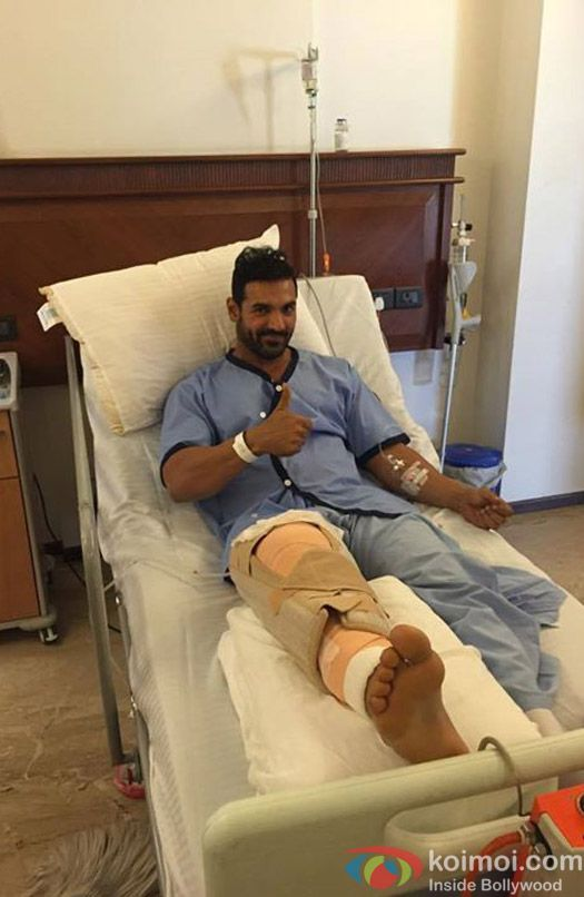 John Abraham Recovering Well After Surgery Thanks His Well Wishers John Abraham John Wishers