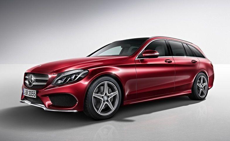 2014 Mercedes-Benz C-Class Estate AMG Line goes official.