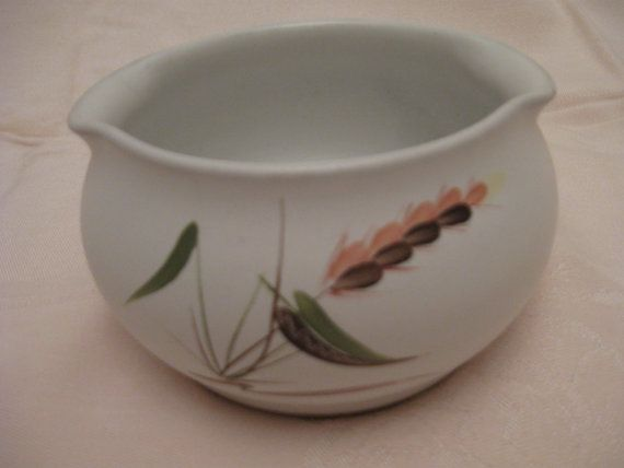 English Denby Stoneware Greenwheat Small Serving Bowl by Albert Collage; Oven to Table Dinnerware; & English Denby Stoneware Greenwheat Small Serving Bowl by Albert ...
