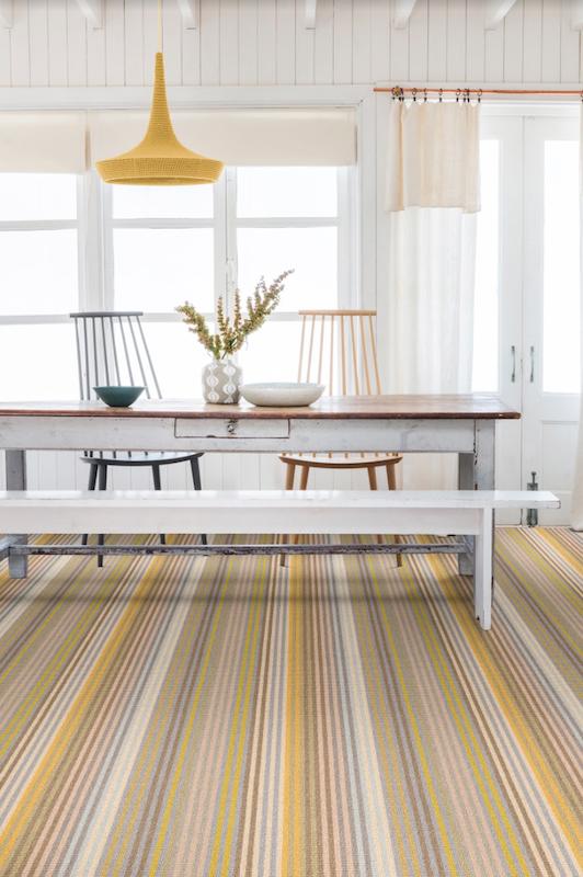 Margo Selby Stripe Sun Seasalter Carpet Alternative