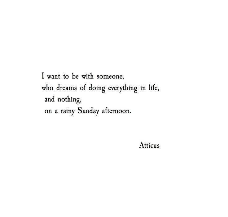 I want to be with someone, who dreams of doing everything in life ...