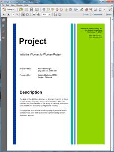 Civil Engineering Construction Sample Proposal - The Civil