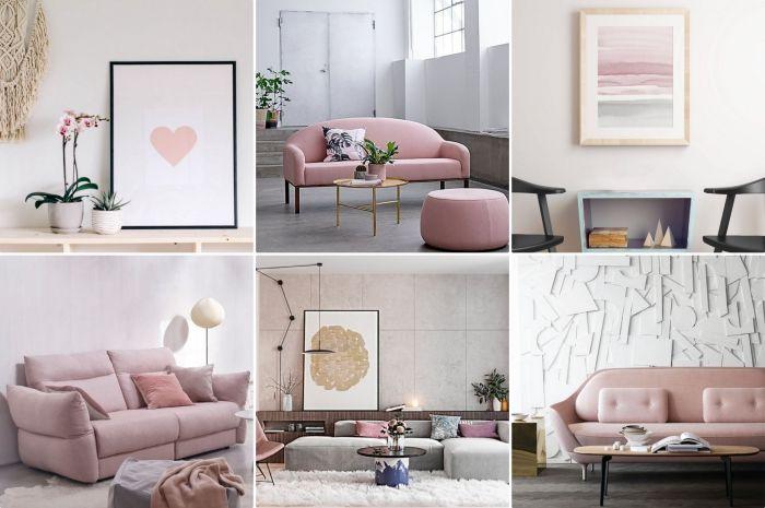 ▷ 1001 + exemples inspirants pour une déco rose poudré - Peindre Un Meuble En Gris