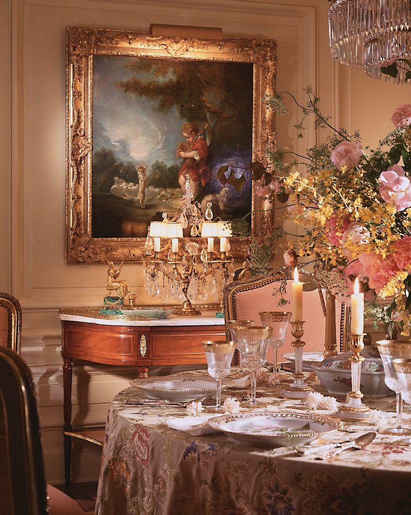 William r eubanks interior design interiors room and for Decoration orientale