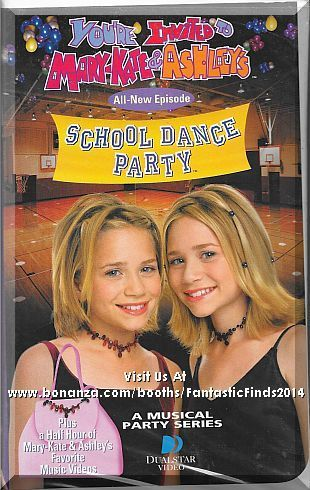 Vhs You Re Invited To Mary Kate Ashley S School Dance Party