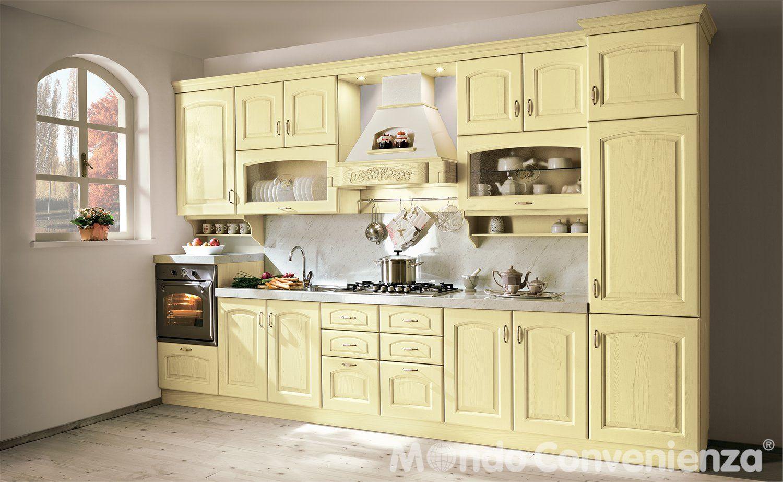 Cucina berta cucina composizione tipo classico mondo - Cucine color panna ...