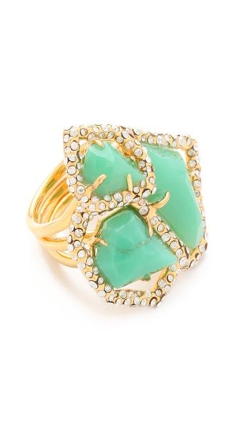Alexis Bittar New Wave Stacked Ring, $245