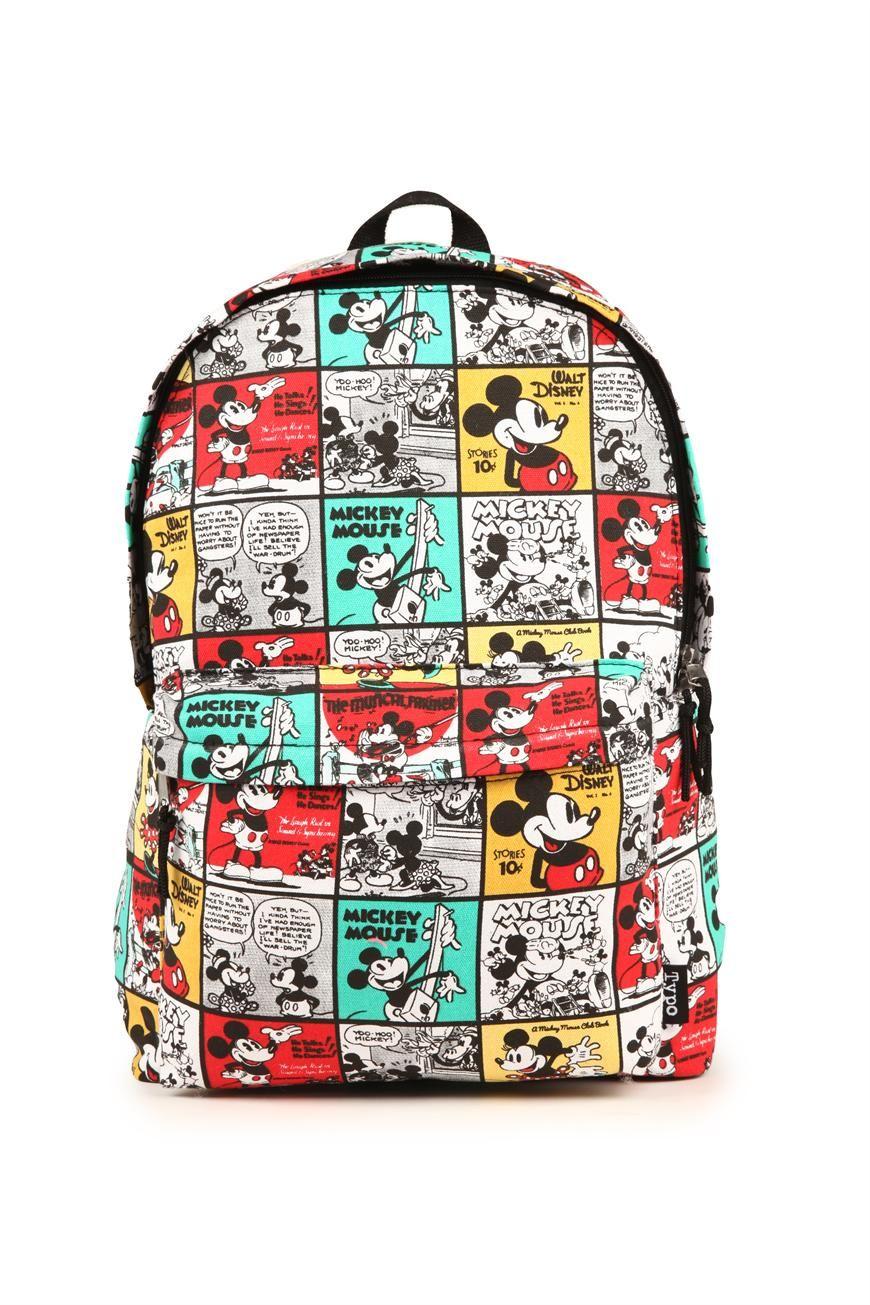Mickey Mouse Harvard Backpack Disney Bag Typo Au
