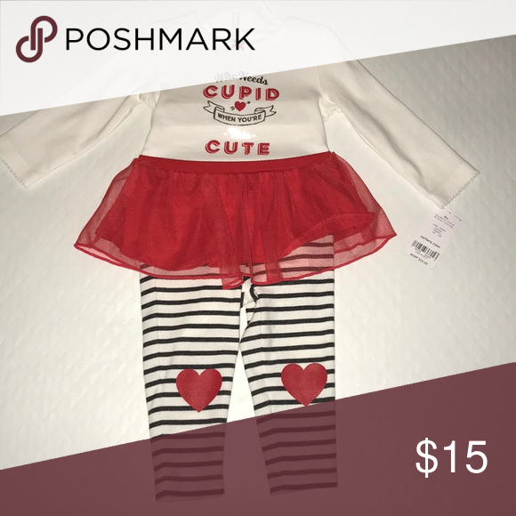 Carters Valentine's Day outfit