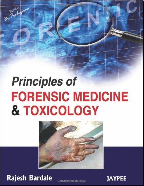Principles Of Forensic Medicine And Toxicology Pdf Forensics Forensic Science Career Medicine