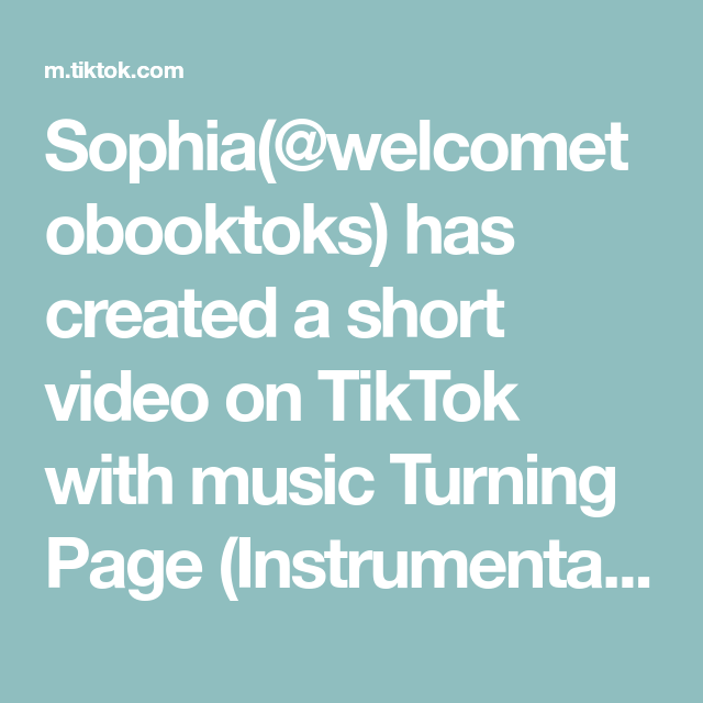 Sophia Welcometobooktoks Has Created A Short Video On Tiktok With Music Turning Page Instrumental My In 2021 January Books Book Recommendations Book Worth Reading