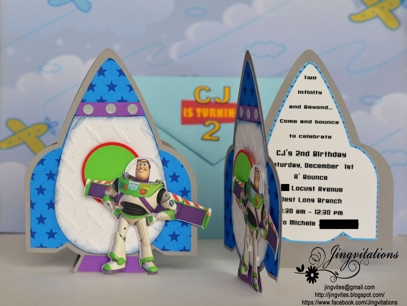 Toy story Buzz lightyear and Woody Rocketship Outerspace ...