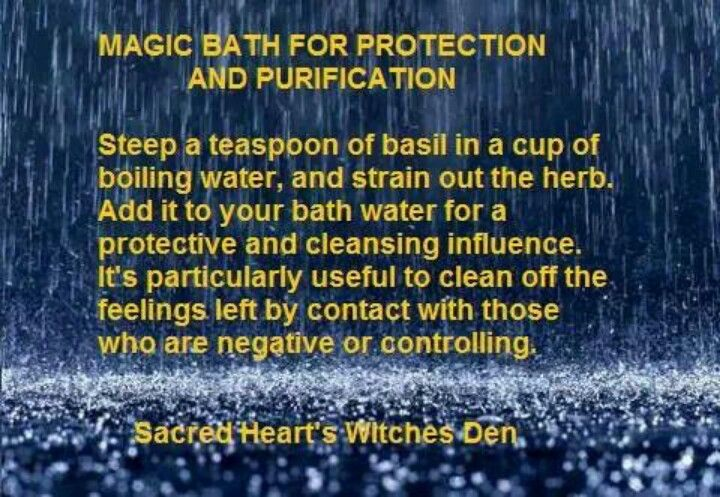 Wiccan Purification Spell