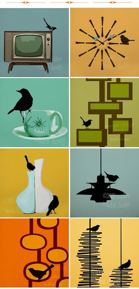 Searching for some mid-century wall-art. | Mid Century | Pinterest ...