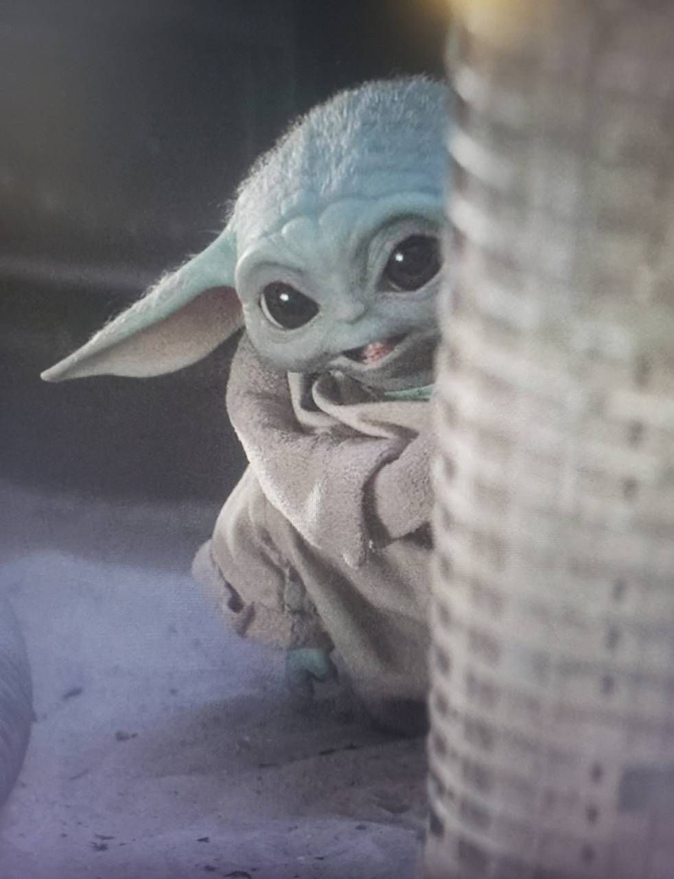 Download Baby Yoda wallpaper by Alexandriamadison a7