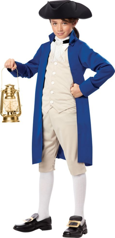Boys Paul Revere Colonial Costume - Party City  sc 1 st  Pinterest : british colonial soldier costume  - Germanpascual.Com