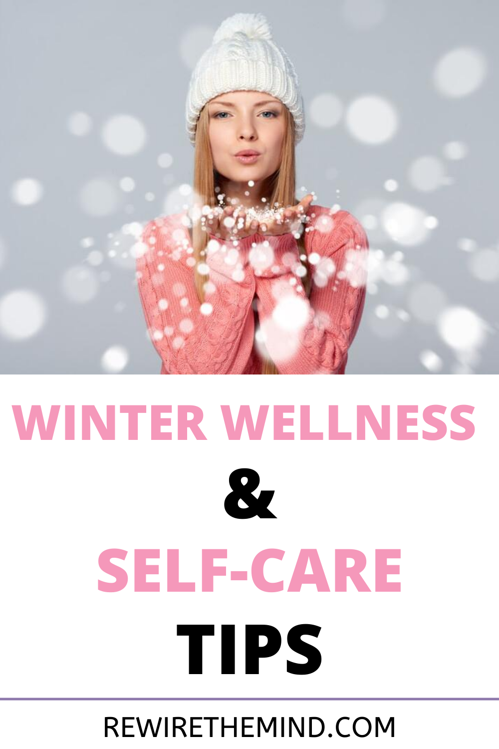 Winter time is on its way and the colder darker evenings can have an impact on your physical and mental health. Disover our winter wellness and self-care tips to help you through the season. Mental health natural solutions to improve your wellbeing. #winterselfcare #winterwellness #winterblues #wintermood #winterselfcarechallenge #wintermentalhealth #winterdepression #winter #selfcare #wellnessinwinter