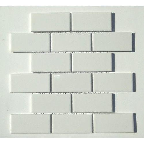Classique 2 X 4 Porcelain Mosaic Tile Porcelain Mosaic Tile