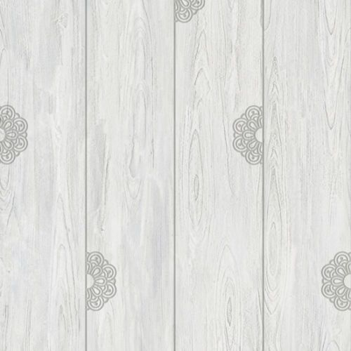 Details about Gray Wood Self Adhesive Wallpaper Prepasted