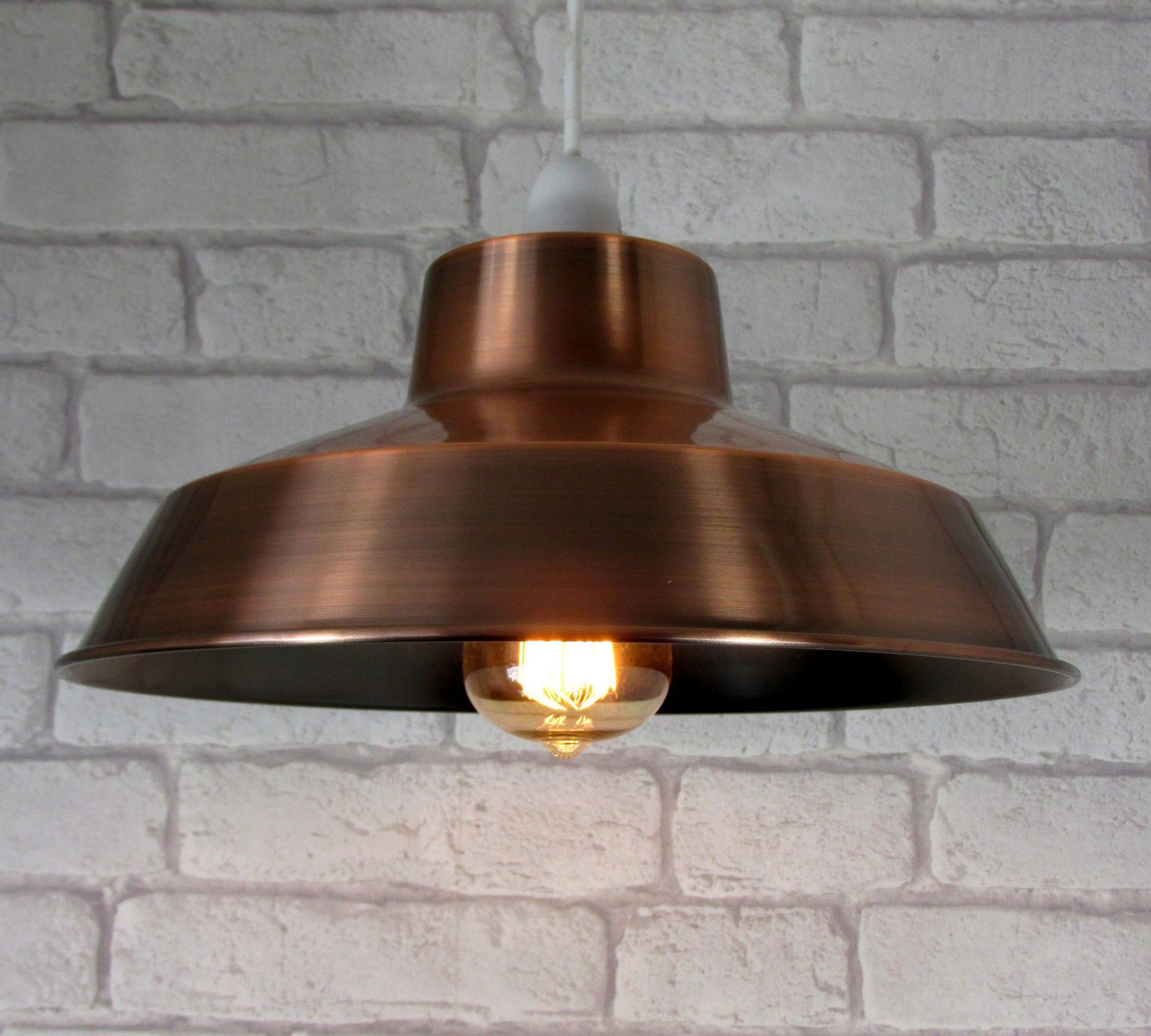 Details About Vintage Metal Lampshade Ceiling Light Shade