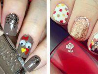 15 Easy Thanksgiving Nail Art Designs Ideas 2016 F Nails
