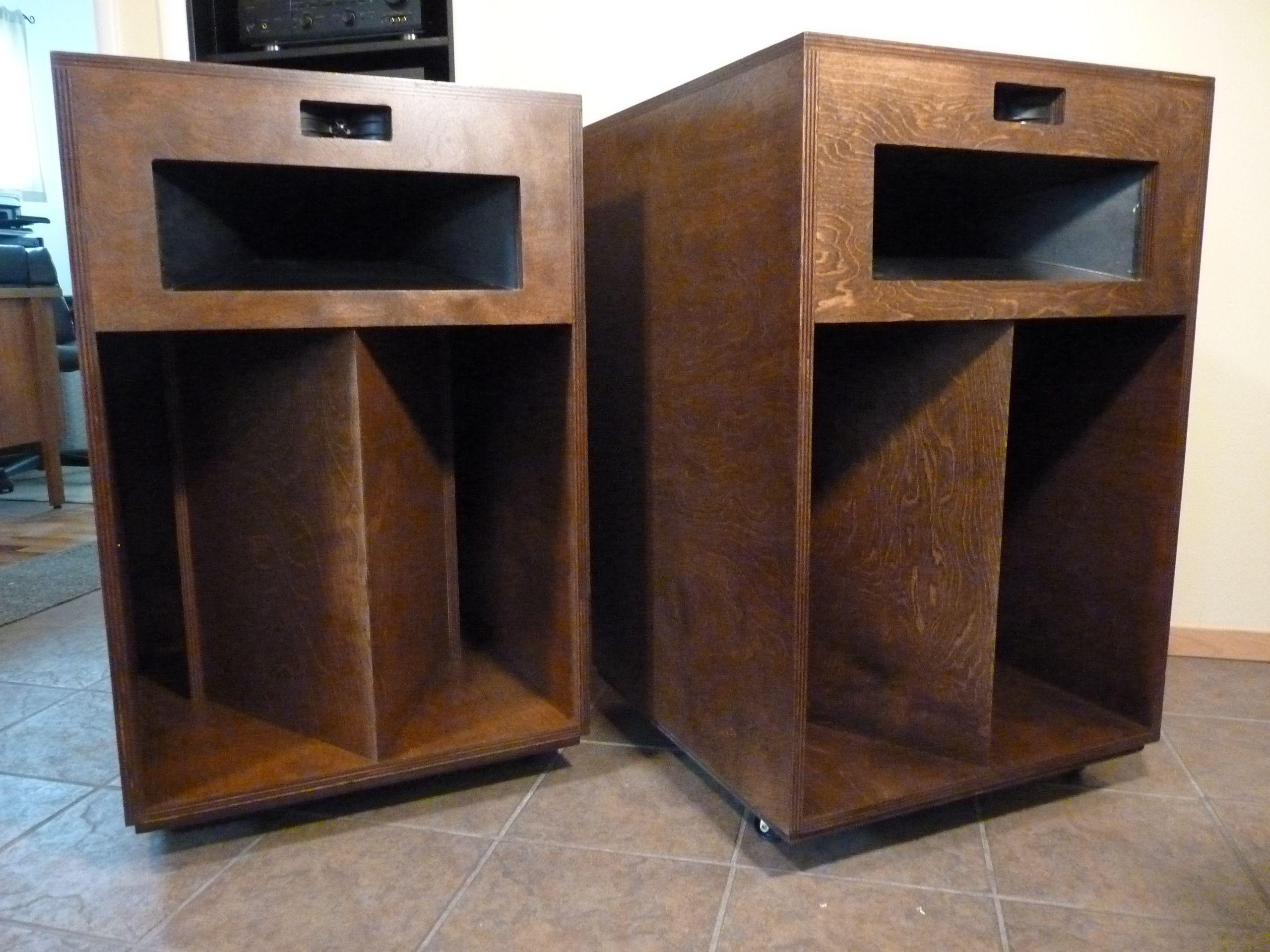 restored klipsch la scala speakers vintage stereo. Black Bedroom Furniture Sets. Home Design Ideas