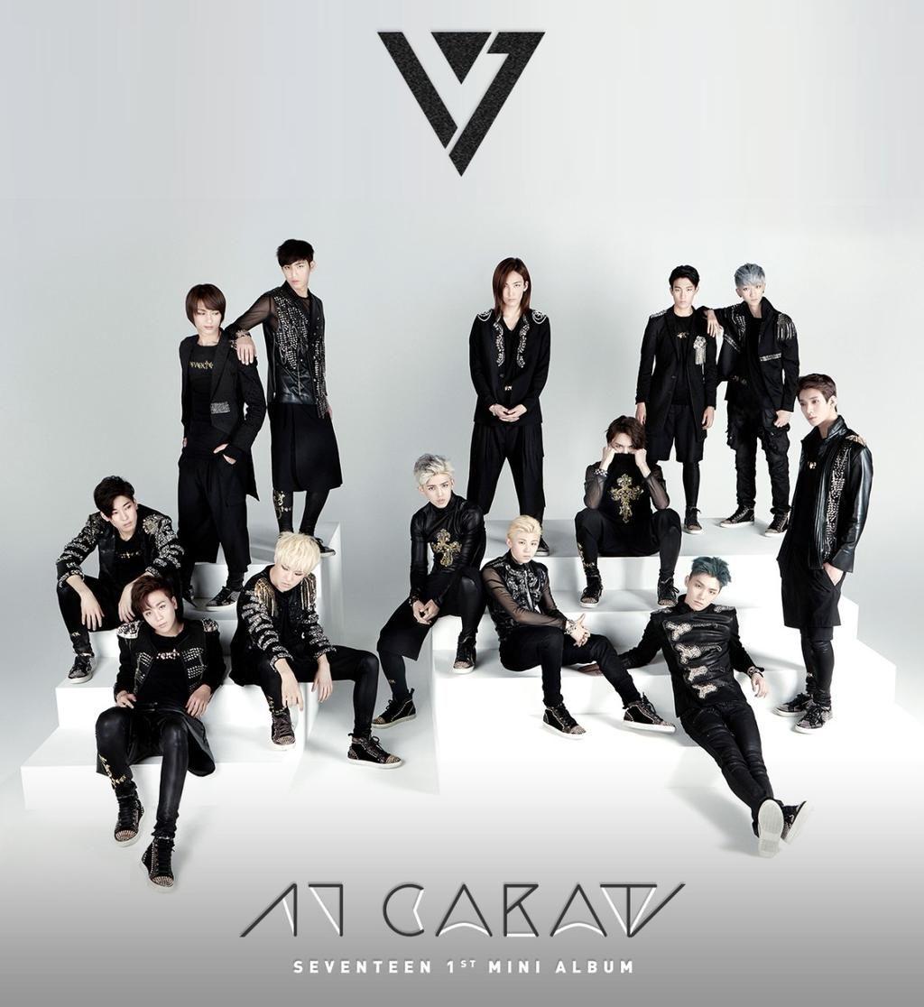 [SEVENTEEN] SEVENTEEN 1st Mini Album [17 CARAT] TEASER PHOTO  #SEVENTEEN #17CARAT #아낀다 #Adore_U