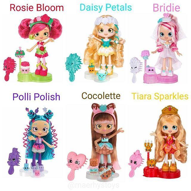 New Shopkins Shoppies Daisy Petals /& 2 Shopkin Figures Official
