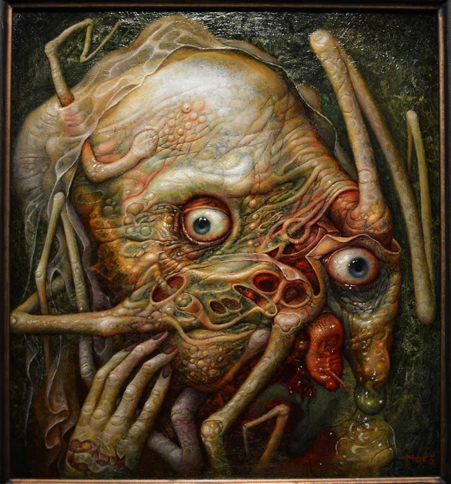 The Outsider By H  P  Lovecraft Art by Chris Mars | Art