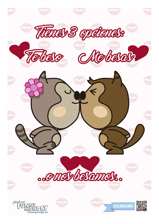 Поздравления подруге, картинки тебе мой поцелуй