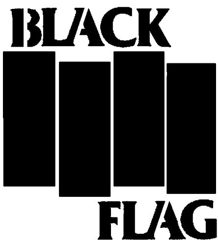 Black Flag | Black flag logo, Black flag, Flag decal