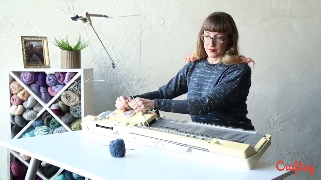 Machine Knitting Sweater Basics with Renée Callahan | Tejido ...