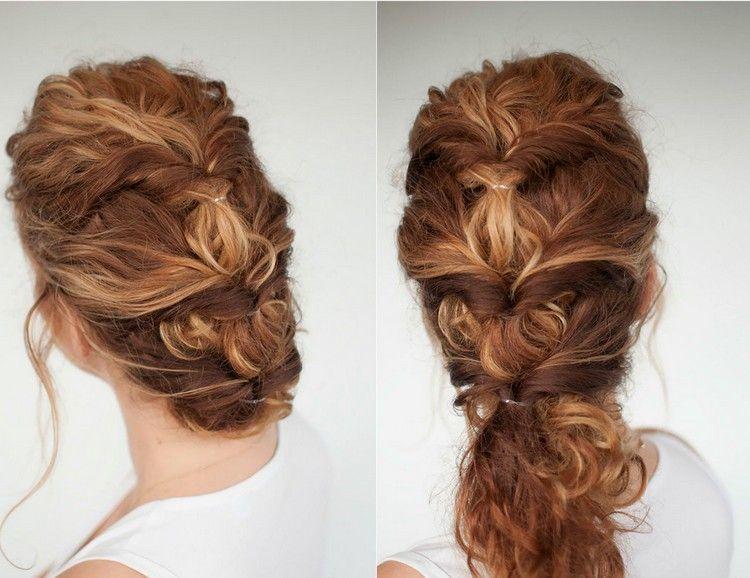 40 Frisuren Fur Naturlocken Zum Selbermachen Mit Anleitung Naturlocken Frisuren Naturlocken Frisuren Lange Haare Selber Machen