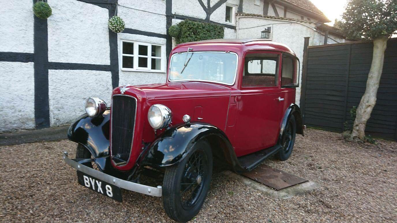 Austin 7 ruby 1935 very rare reg included! byx 8. 2 owners from new ...