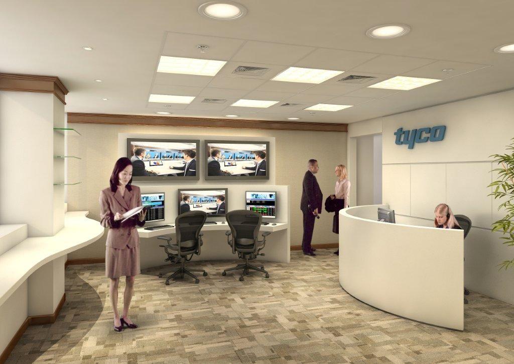 Projeto em 3D. Cliente: Tyco. #arquitetura #arquiteturacorporativa #3D