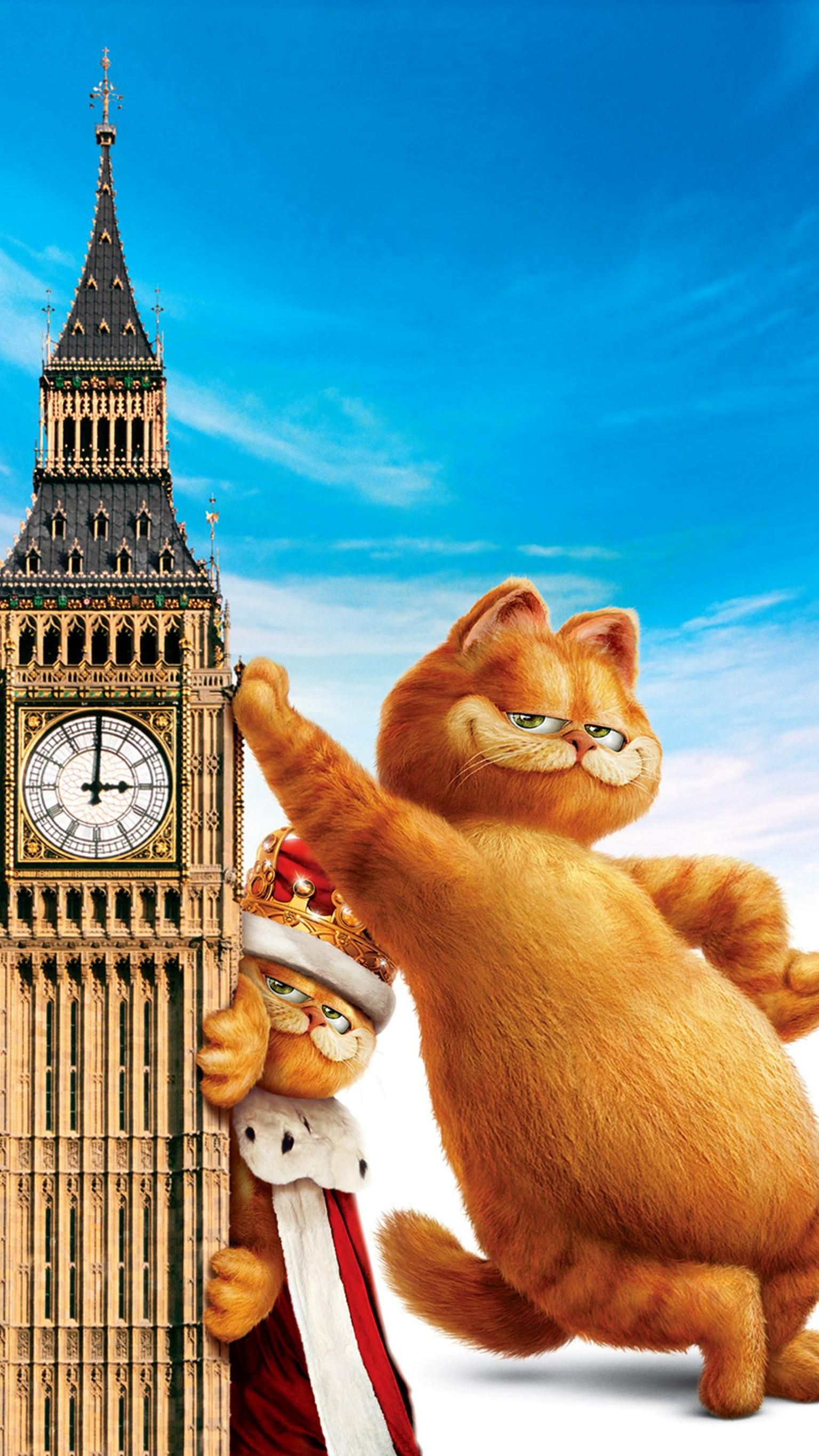 Garfield A Tail of Two Kitties (2006) Phone Wallpaper in