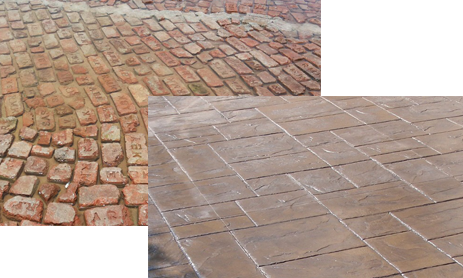 Brick Bat Coba Waterproofing With Stamped Finish Is A Traditional Method For Newly Constructed Structures