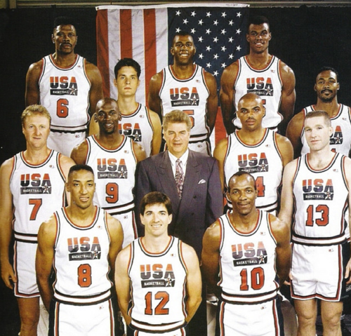 Dreamteam Olympic Basketball Usa Dream Team Dream Team