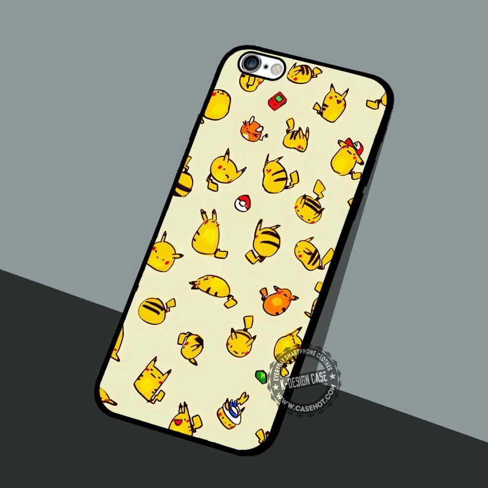 Pokemon Yellow raichu and pikachu cute iphone case