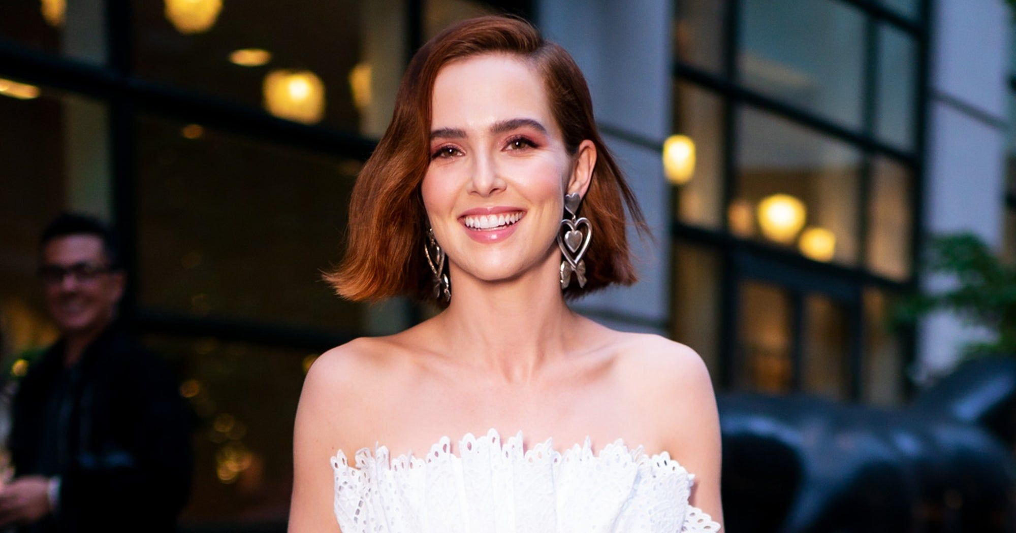 This Is The Warmest Hair-Color Trend Of Fall 2019 #platinumblondehighlights