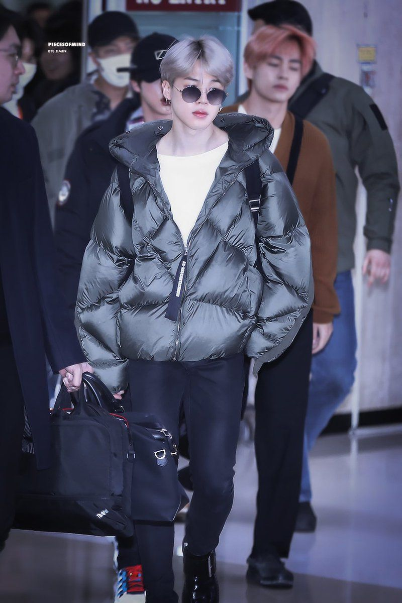 Pin On Bts Airport Fashion