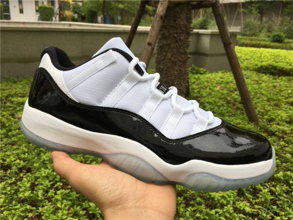 d1172be6bcc787 2017 Air Jordan 11 Low Concord White Black-Dark Concord For Sale ...
