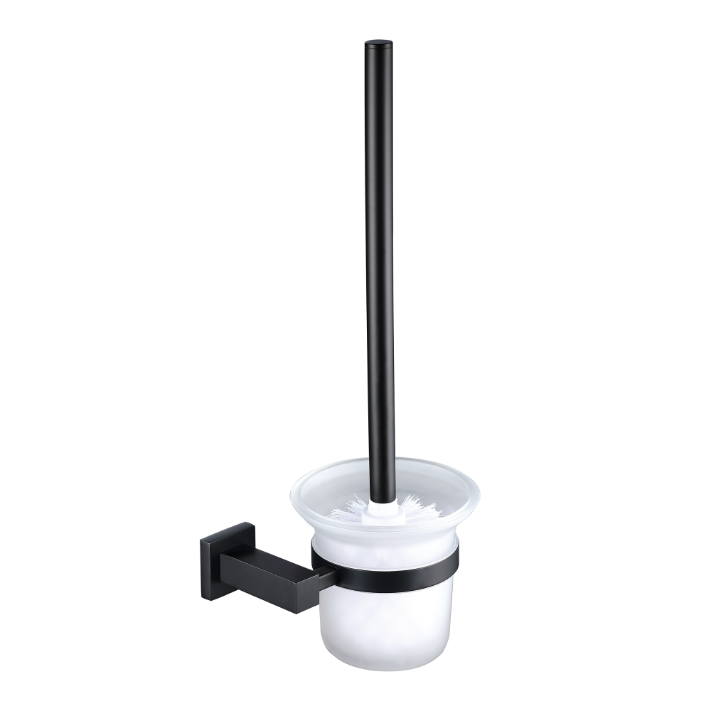 A Wall Mounted Toilet Brush With Wall Hung Storage For Hygenic Practical Accessability This Is A Piece With A Clean Highly Polished And Rounded C Toilet Brush
