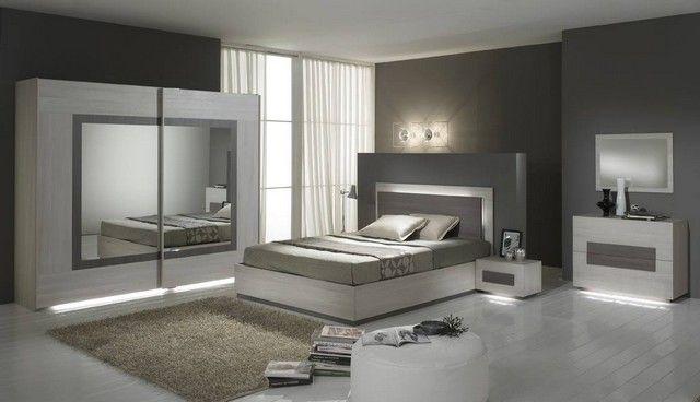 Idées Déco Maison Des chambres modernes en tons de gris, ton neutre