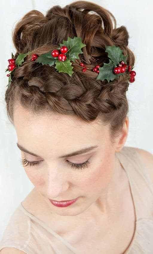 15 Peinados de navidad para ninas