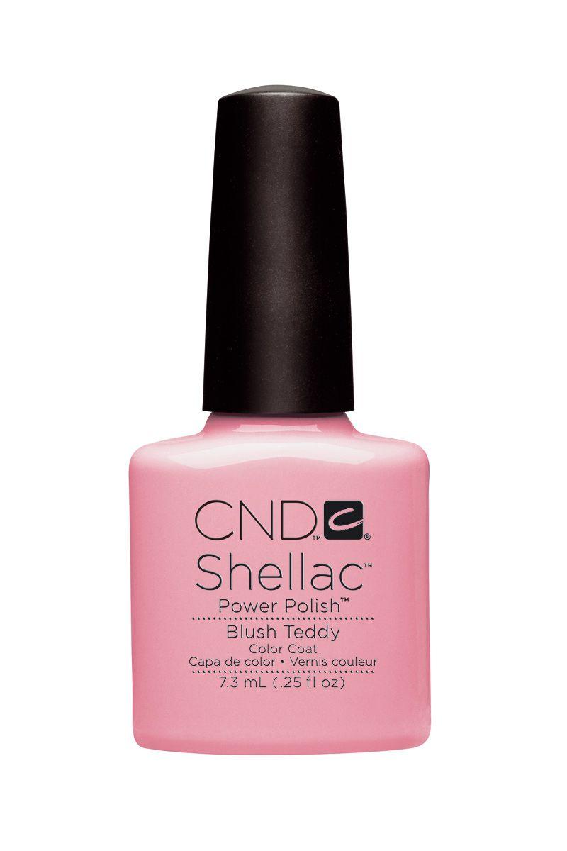 Esmalte de uñas Blush Teddy de CND Shellac | Belleza | Pinterest ...