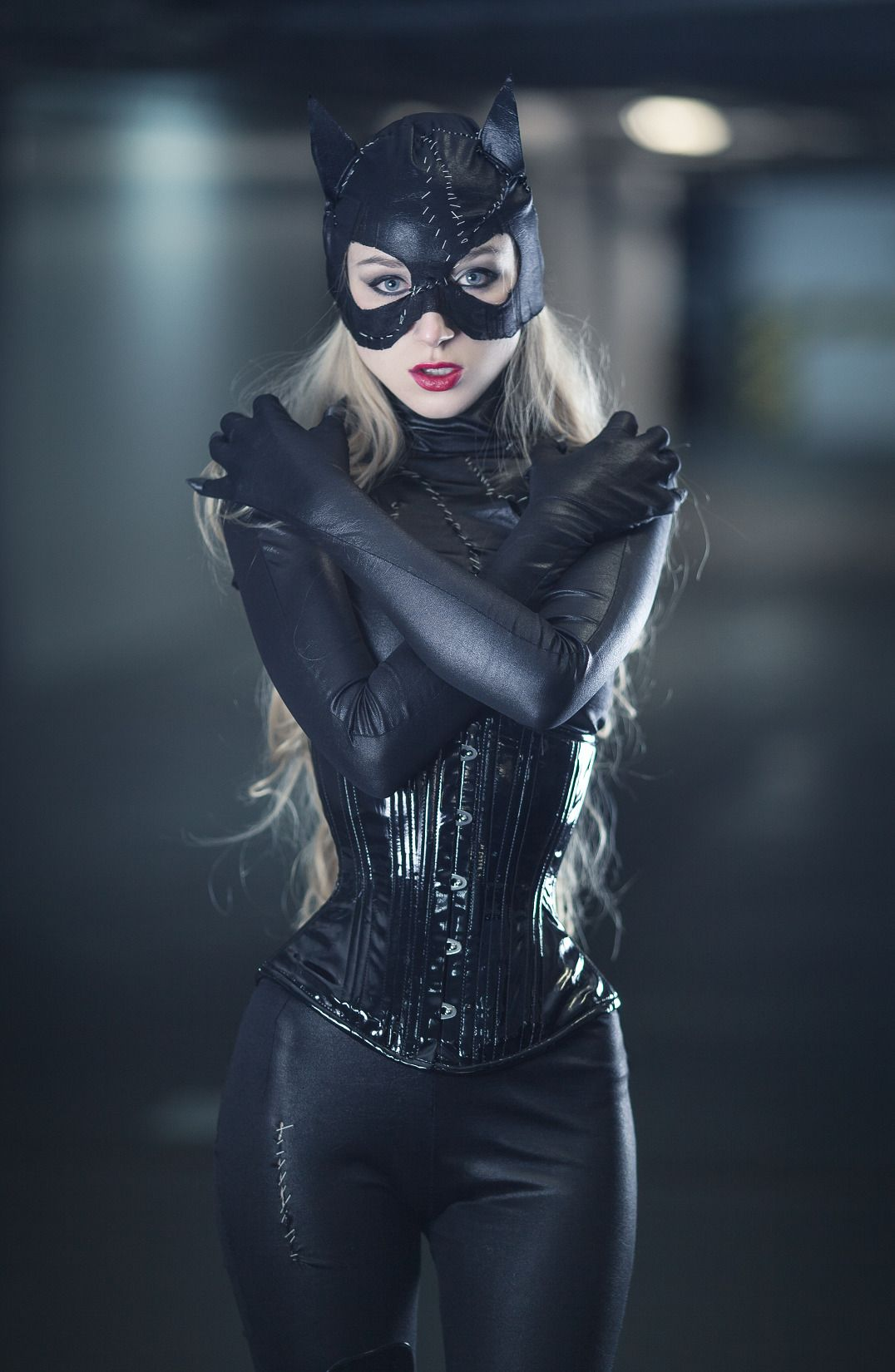 Anime Girl In A Cat Suit Porn pin on superheroine cosplays that caught my eye