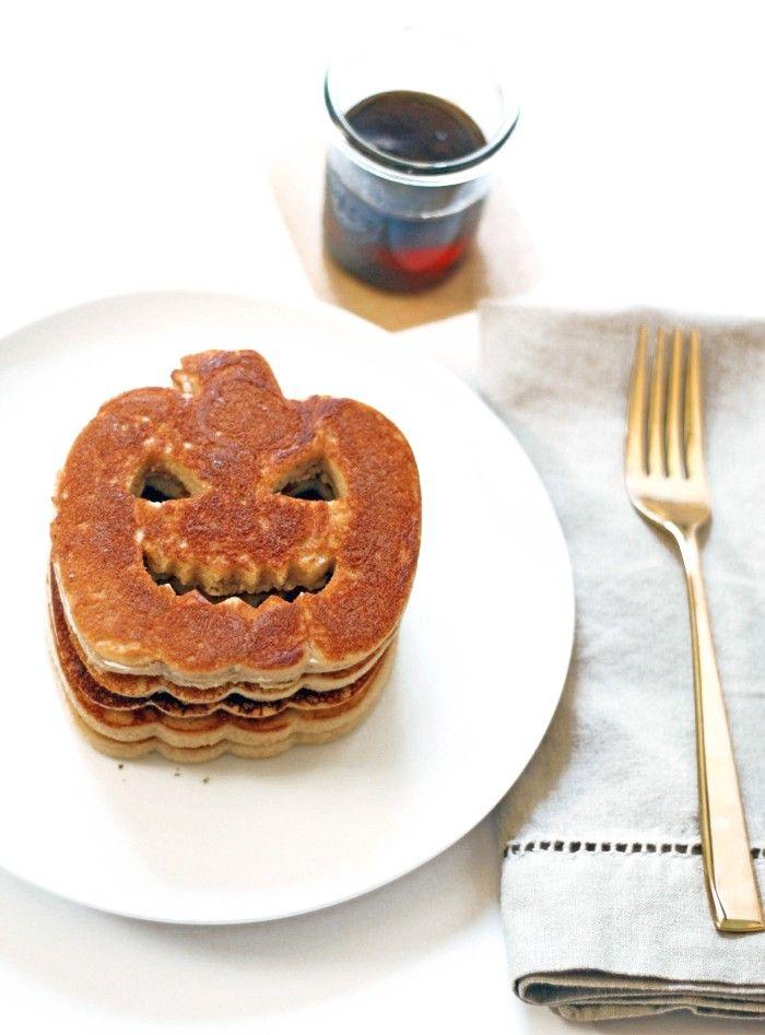 Halloween Pumpkin Pancakes!   Happy Fall, y\'all   Pinterest ...