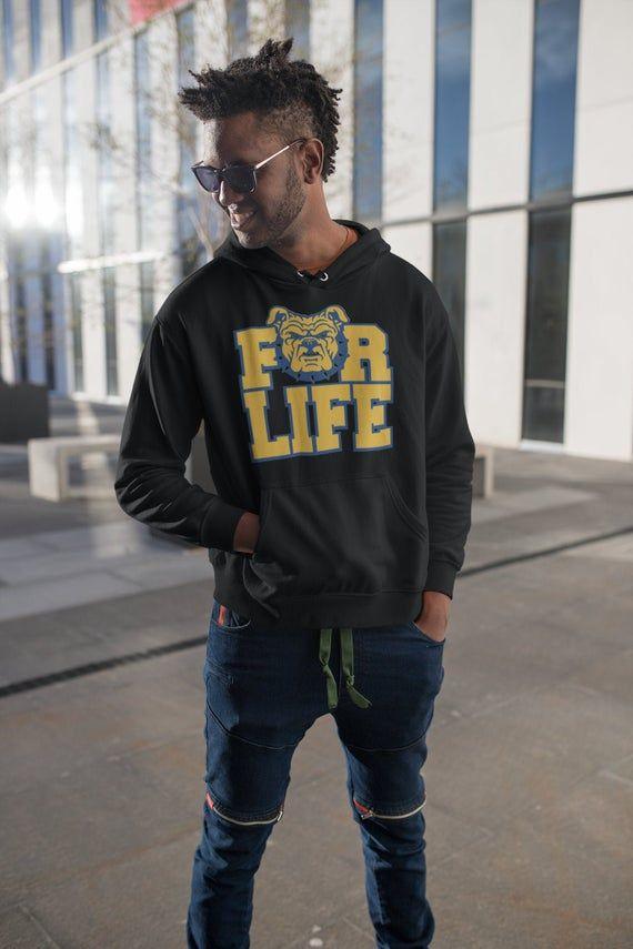 NC A&T For Life Hoodie Sweatshirt | HBCU Hoodie #championhoodie