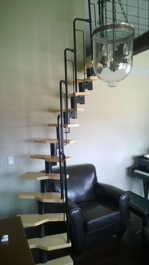 Best Dolle Graz 23 In Black Modular 12 Tread Stair Kit 68440 400 x 300
